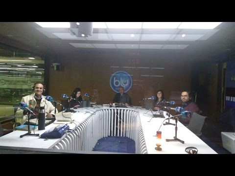 DAVID DIAMOND EN BLU RADIO - LOS ANGELES Y NEFILIM