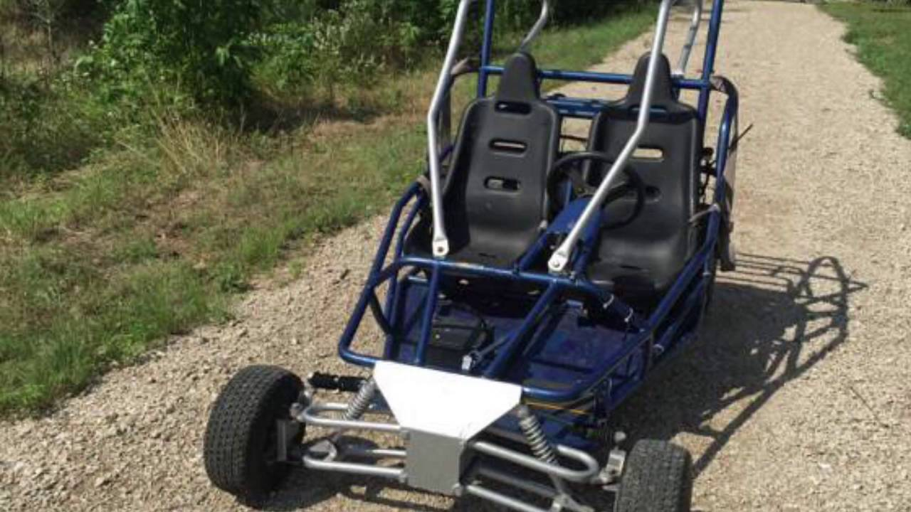 Yerfdog Spiderbox 150 Cc Go Kart Review Youtube