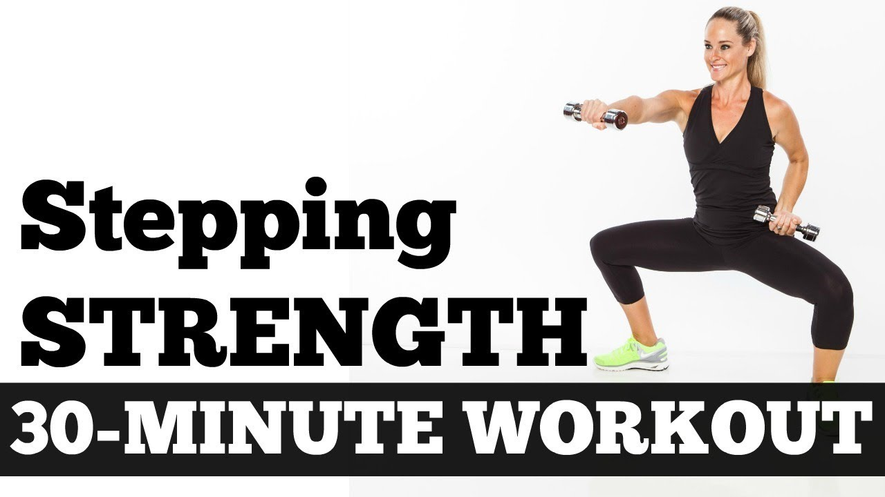 30 Minute Stepping Strength Total Body Workout With Dumbbells No Full Dumbell Circuit Pictures Photos And Images For Floor Work Walking