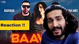 Badshah - Baawla | Uchana Amit Ft. Samreen Kaur | Music Video | Reaction !!
