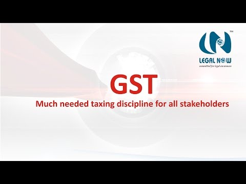 GST, much needed taxing discipline for all stakeholders