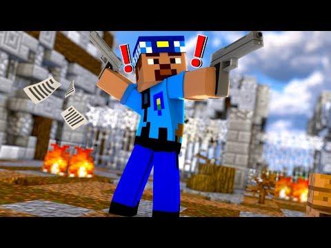 FAKİR POLİS OLDU! 😱 - Minecraft thumbnail