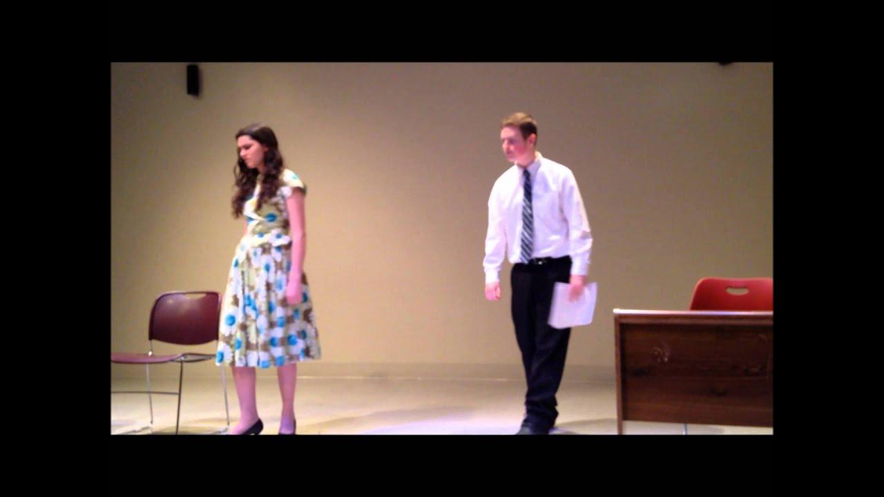 9d4dc03e5c7 The Star-Spangled Girl scene - YouTube