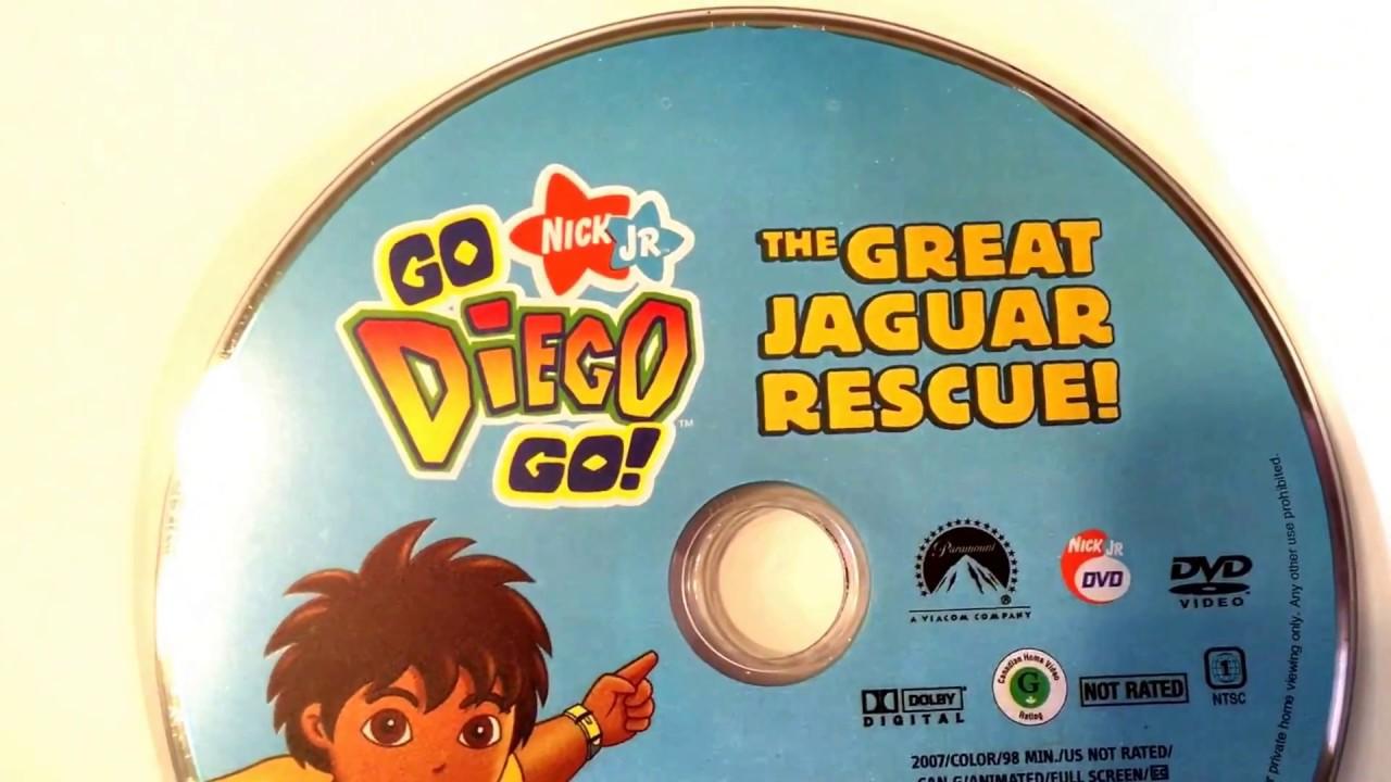 go diego go great jaguar rescue video nick jr dora the