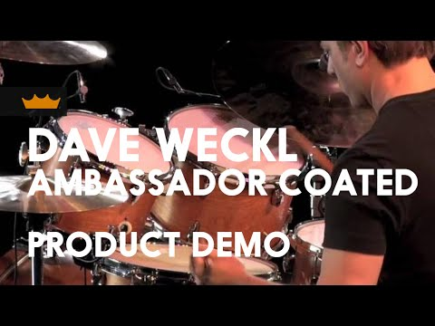 Dave Weckl Coated Ambassador Product Demo