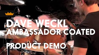 Dave Weckl Coated Ambassador Product Demo