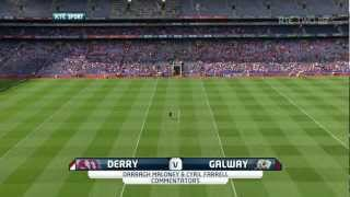 (720p) Derry v Galway 2012 Intermediate Camogie Final 1/5