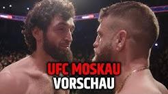 HEUTE ABEND: UFC DEBÜT VON KHABIBS COUSIN! UFC MOSKAU VORSCHAU