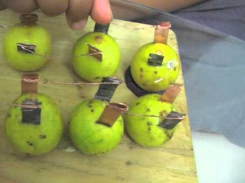 electricity by lemon / Lemon Battery by ayush