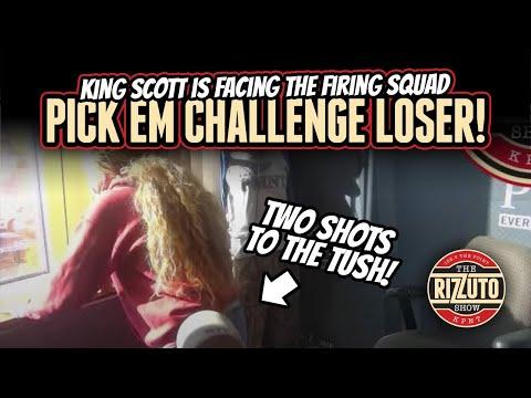 KING SCOTT takes TWO tush shots