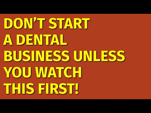 How To Start A Dental Business | Including Free Dental Business Plan Template