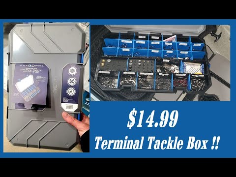 Academy H2O Express Terminal Tackle Box $14.99 Going Against The Big Boys.