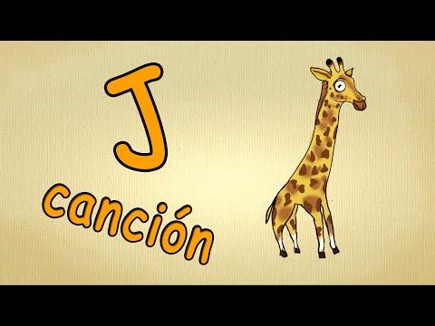 abc alphabet song en español | La letra J Cancion | canciones infantiles