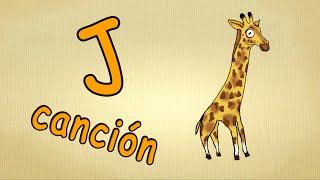 abc alphabet song en español la letra j cancion canciones infantiles