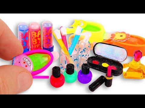 7 DIY Makeup Miniatures