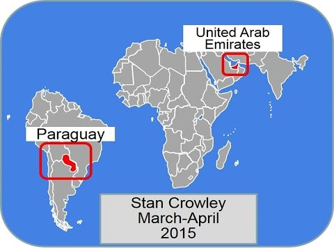 Stan Crowley's evangelistic trip to Paraguay (Asuncion) and