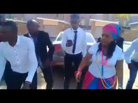 Winnie Mashaba With Dikakapa Tsa Mmino