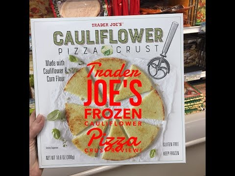 Trader Joes Frozen Cauliflower Pizza Crust Review