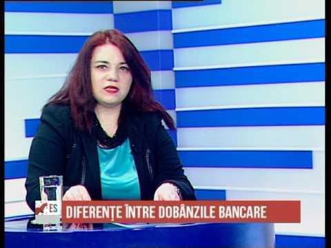 Diferente intre dobanzile la depozite si la credite - Economia Sudului - 16.01.2017