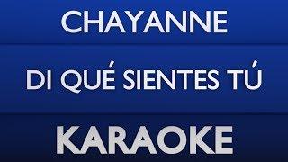 Baixar Chayanne - Di qué sientes tú (Karaoke) + Acordes
