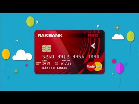 Introducing RAKBANK RED Credit Card