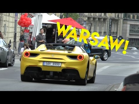 Supercars in Warsaw | Huracans, 488s, Revs and More!