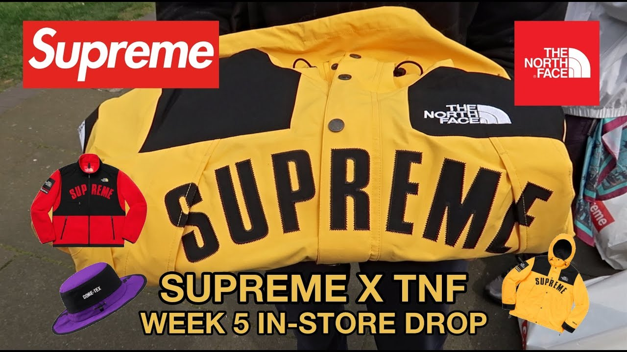 Download SUPREME x THE NORTH FACE - WEEK 5 SS19 LONDON IN-STORE DROP