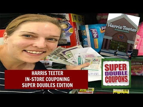 Harris Teeter In-Store Couponing Super Doubles Edition!