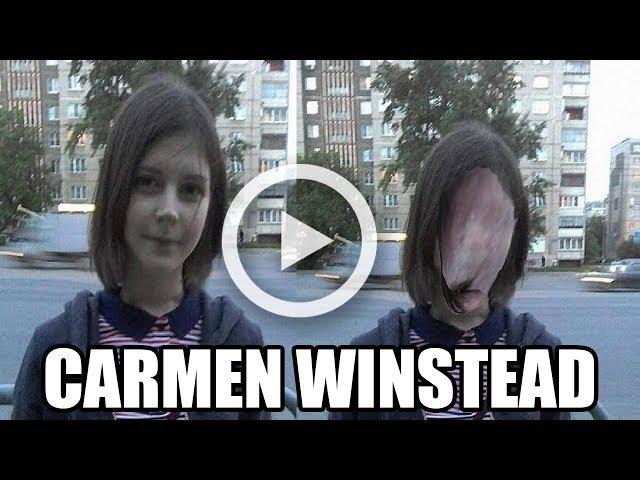 El Verdadero VÍDEO De Carmen Winstead   Ellos La Empujarón