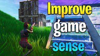 3 tips to IMPROVE GAME SENSE in Fortnite! How to get better at Fortnite! Fortnite tips!
