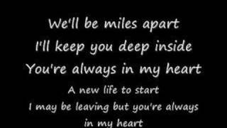 Miles Apart By Yellowcard with lyrics