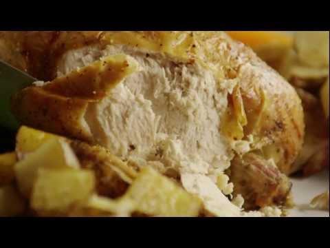 How To Make Roast Chicken With Rosemary | Chicken Recipe | Allrecipes.com