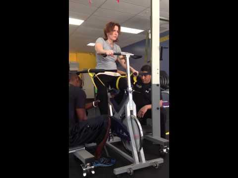 NeuroFit360 a neurological injury - SS T2-3 SCI - Spinal Bike Recovery Injury