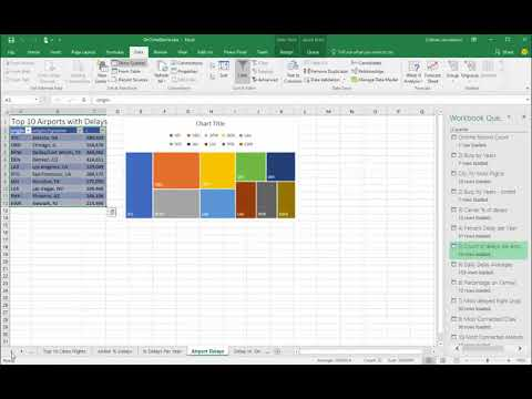 Visualizing Flight Data with Excel and Vector/Actian X