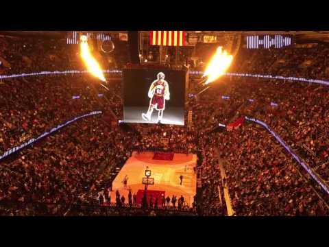 Cleveland Cavs Intro Quicken Loans Arena 4/13/16