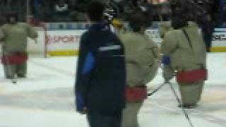 Jereme and Mark! Sumo Wrestler Hockey!!!
