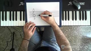 comotocar.es - Como tocar el piano - 13 - La clave de Sol