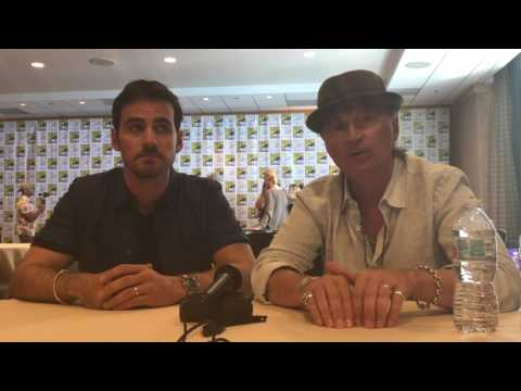 SDCC 2017 Once Upon a Time: Colin O'Donoghue & Robert Carlyle