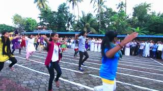 Freedom Dance CLC West Chalakudy on august 15 CLC Day