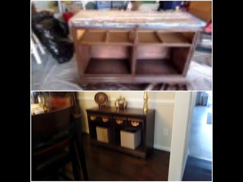 DIY / Dresser to Buffet Makeover