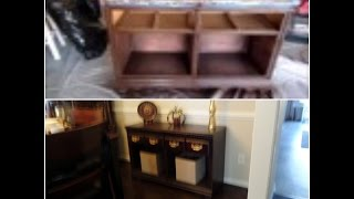 DIY / Dresser to Buffet Makeover