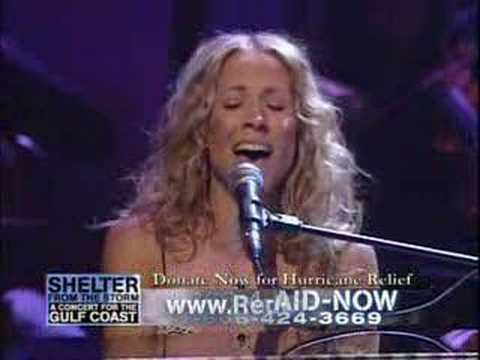 Sheryl Crow - The water is wide (live)