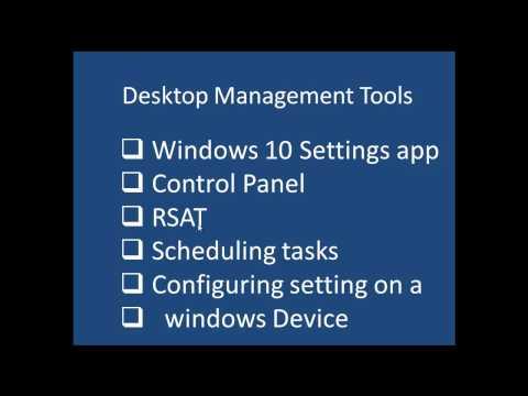 Desktop management Tools - etechtraining.com