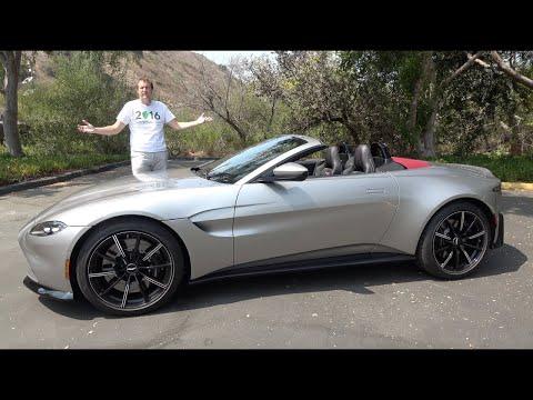 Aston Martin Vantage Roadster 2021 года - это люксовая спортивная машина за $200 000