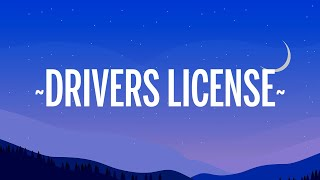 Olivia Rodrigo - drivers license (Letra/Lyrics)