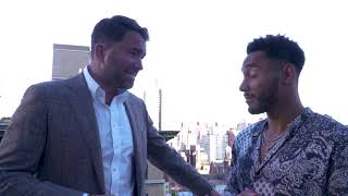 Eddie Hearn on Joshua vs. Ruiz Jr, possible Wilder fight
