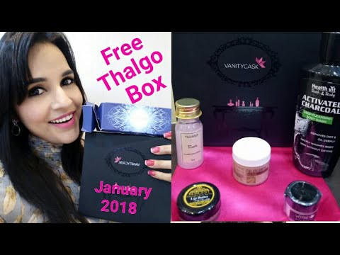 Vanity Cask January + FREE Thalgo Discovery Box + FREE Product | Coupon Code |