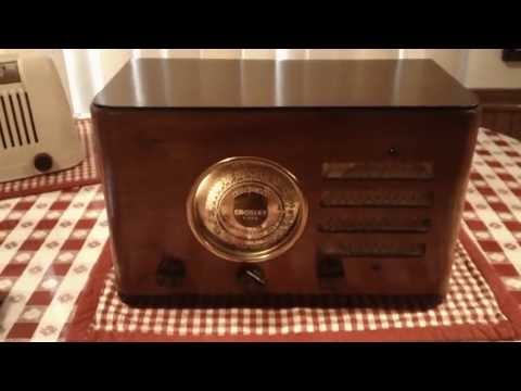 Crosley 517 Fiver Deluxe Compact, a Vintage Tube Radio, from 1937
