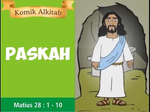 YESUS BANGKIT - Slide cerita komik Alkitab anak Sekolah ...