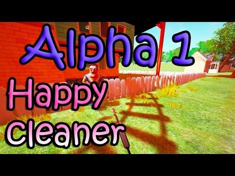 Hello Neighbor Alpha 1 сосед-уборщик хочет сдать смену thumbnail